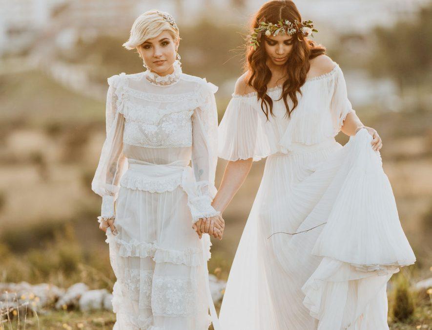passeggiata delle spose al tramonto
